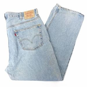 Levi's 550 relaxed fit jeans 44x30